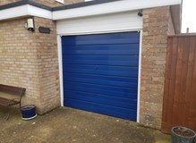 Fordingbridge Old heavy awkward garage door