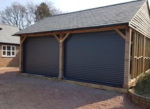 Carport to Garage conversion Fovant