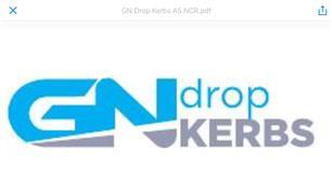 GN Drop Kerbs