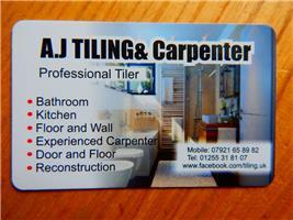 AJ Tiling & Carpenter