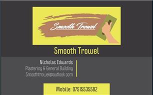Smooth Trowel
