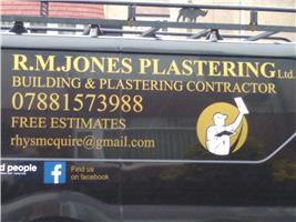 R M Jones Plastering and Building Contractor Ltd