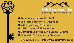 MKA Locksmiths