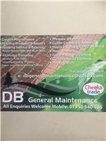 DB General Maintenance