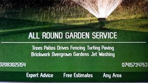 All Round Garden service