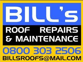 Bill's Roof Repairs & Maintenance