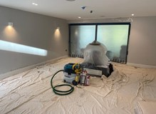 Refurbishment- dust protection measures