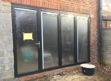 New fitted Bi-fold doors