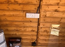Summerhouse Electrical Wiring Fault.