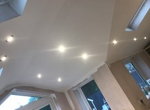 Downlights With LED Lamps.