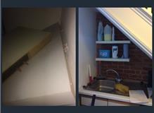 Refitted shelves