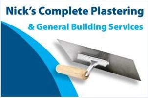 Nick's Complete Plastering & General Building