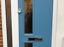 Duck Egg Blue Composite Door