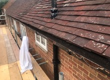 Gutters and soffits