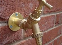 call now to have an outside tap fitted