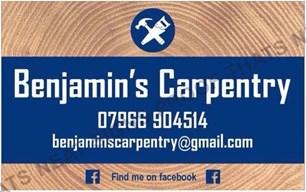 Benjamin's Carpentry