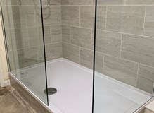 New shower room- bath out