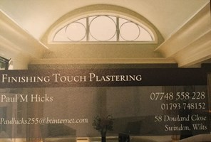Finishing Touch Plastering