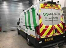 CCTV drain survey van