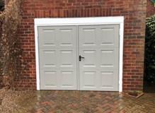 Hinge door 50/50 openign door leaves