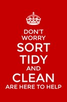 Sort, Tidy and Clean
