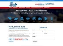 Pests, Birds & Bugs Website