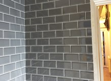 New tile installation