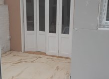 Knock through and plaster