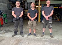 The team at KCS Motor Services