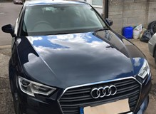 Audi A3 In for First Service