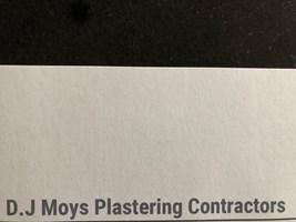 D.J Moys Plastering Contractors