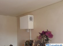 Wall mounted PIV unit installation