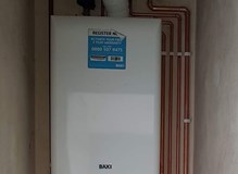 A combi swap that was completed by one of our engineers early this year.