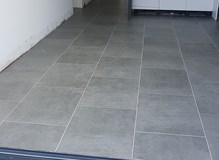 Karndean art select tiles with ds10 grout strip.