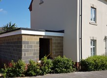 Single storey house extension 2018