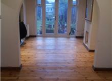 Rustic look flooring