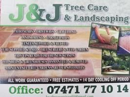 J & J Tree Care & Landscaping