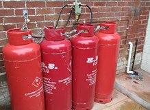 LPG Gas Bottle Installation