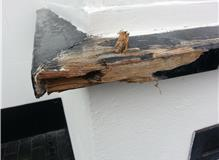Rotted window sill