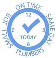 Small Job On Time Same Day Plumbers