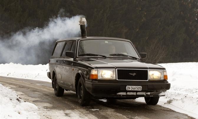 Volvo 240 Stufa