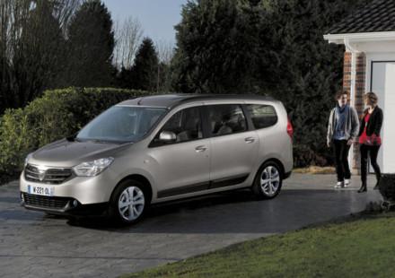 La Monovolume Dacia al Salone di Ginevra