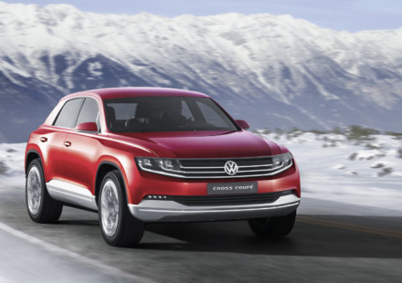 Volkswagen Cross Coupe al Salone di Ginevra