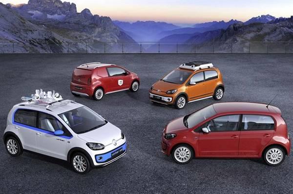 Volkswagen UP! 4 concept al Salone di Ginevra