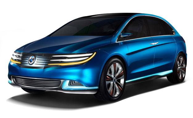 La prima concept car nata dalla collaborazione Daimler BYD