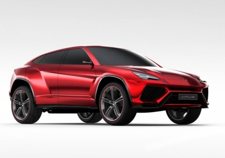La SUV Lamborghini la URUS