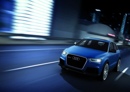 Audi Q3 RS concept al Salone di Pechino