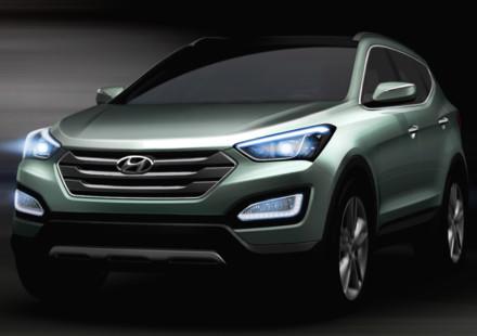 A New york la presentazione della nuova generazione di Santa Fe Hyundai