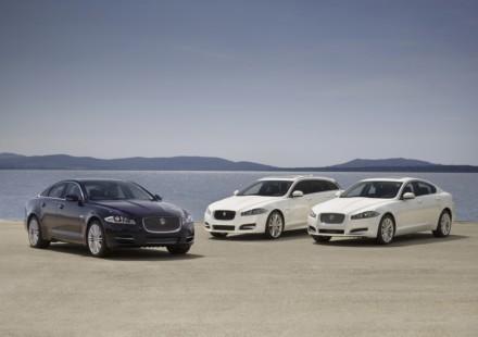 Jaguar presenta la gamma 2013 della XF e XJ