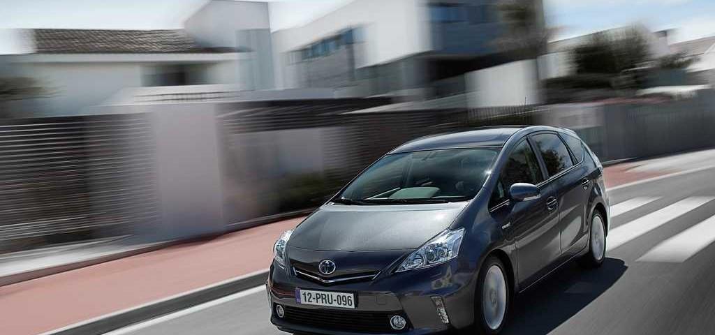 La nuova monovolume Prius Più della Toyota